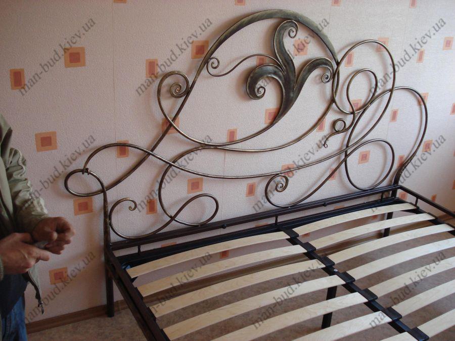 Кованые кровати, купить кованую кровать в Киеве: цены, фото