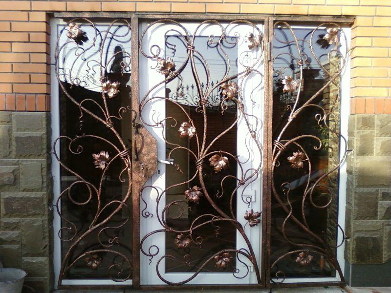 Красивые решетки на окна фото