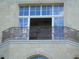 Кованые балконы фото №2