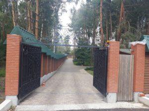 Кованые ворота фото №17