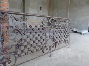 Кованые балконы фото №4