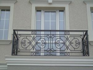 Кованые балконы фото №16