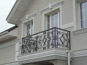 Кованые балконы фото №14