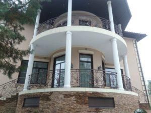 Кованые балконы фото №5