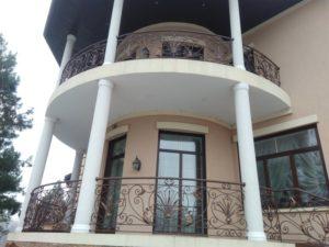 Кованые балконы фото №6