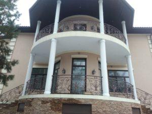 Кованые балконы фото №7