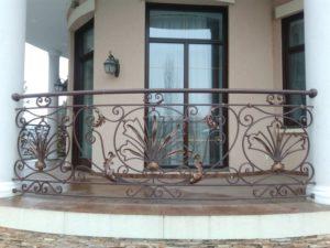 Кованые балконы фото №8