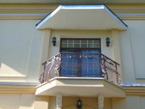 Кованые балконы фото №9