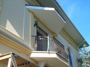 Кованые балконы фото №12
