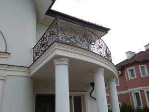Кованые балконы фото №18
