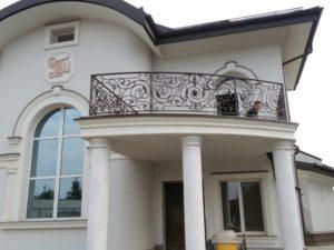 Кованые балконы фото №19