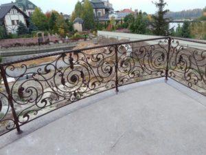 Кованые балконы фото №20