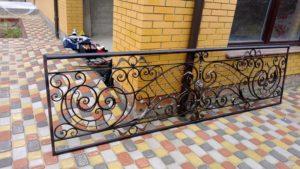 Кованые балконы фото №21
