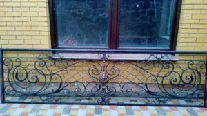 Кованые балконы фото №22