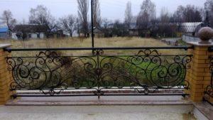 Кованые балконы фото №23
