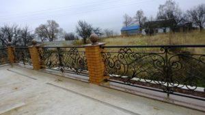 Кованые балконы фото №24