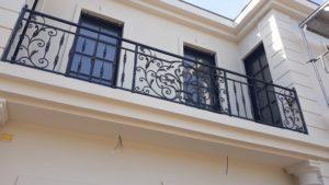 Кованые балконы фото №30