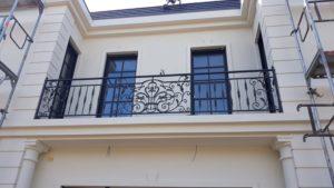 Кованые балконы фото №31