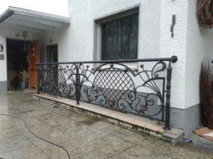 Кованые балконы фото №34
