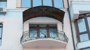 Кованые балконы фото №40