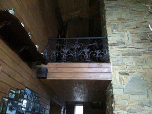 Кованые балконы фото №36