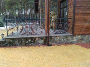 Кованые балконы фото №44