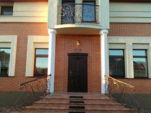Кованые балконы фото №41
