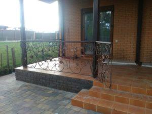Кованые балконы фото №42