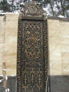 Кованые ворота фото №70