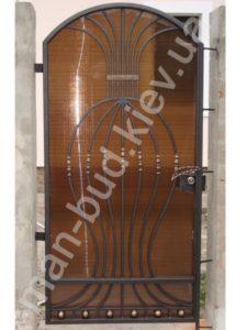 Кованые ворота фото №72