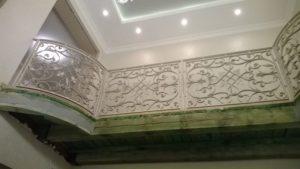 Кованые балконы фото №46