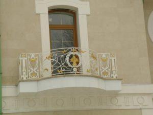 Кованые балконы фото №50