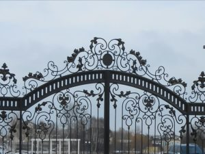 Кованые ворота фото №2