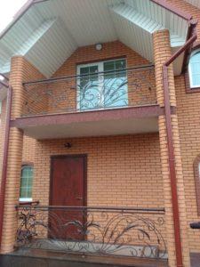 Кованые балконы фото №54