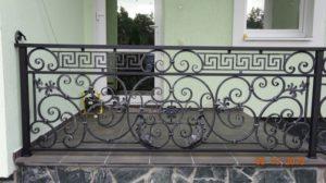 Кованые балконы фото №59