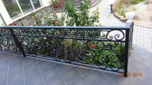 Кованые балконы фото №60