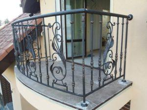 Кованые балконы фото №63