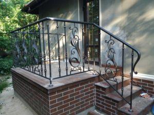 Кованые балконы фото №64