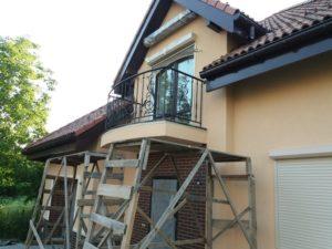 Кованые балконы фото №61