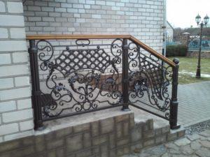 Кованые балконы фото №70