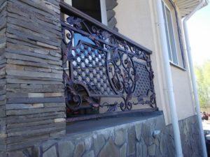 Кованые балконы фото №71