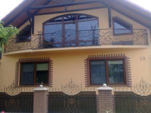 Кованые балконы фото №66