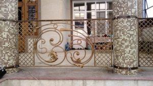 Кованые балконы фото №131