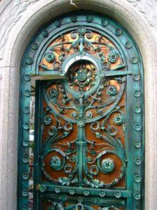 Кованые ворота фото №107
