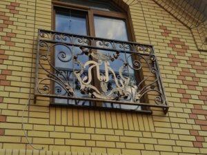 Кованые балконы фото №82