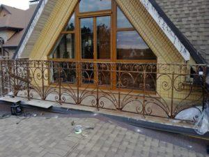Кованые балконы фото №85