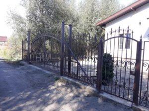 Кованые ворота фото №117