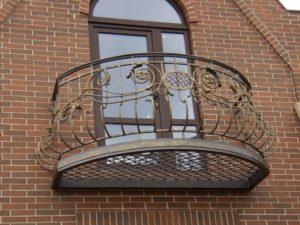 Кованые балконы фото №92