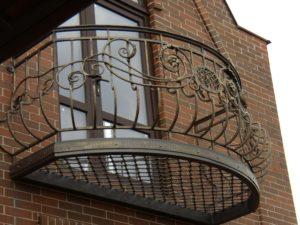 Кованые балконы фото №93