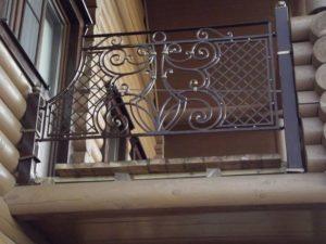 Кованые балконы фото №94
